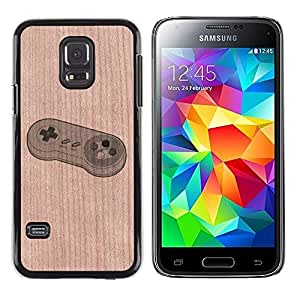 - / Snail Funny Nature Bug - - Funda Delgada Cubierta Case Cover de Madera / FOR Samsung Galaxy S5 Mini G870a / Jordan Colourful Shop/