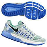 NIKE Women's WMNS Air Zoom Odyssey, SAIL/Black-Lucid Green-Chalk Blue, 7.5 US For Sale