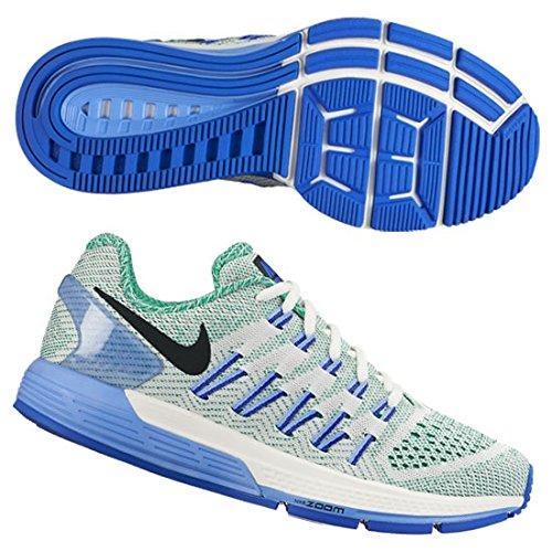 huge discount 8d436 b4bbd Galleon - Nike Women s Wmns Air Zoom Odyssey, SAIL BLACK-LUCID GREEN-CHALK  BLUE, 7.5 US