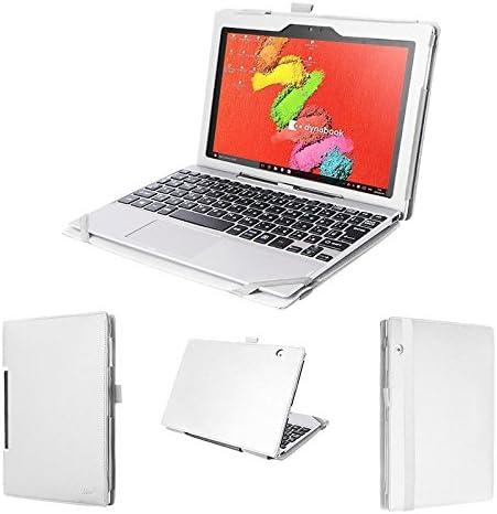 wisers Toshiba Satellite Click 10 10.1 Tablet Case/Cover, teclado tipo de almacenamiento, color blanco: Amazon.es: Electrónica