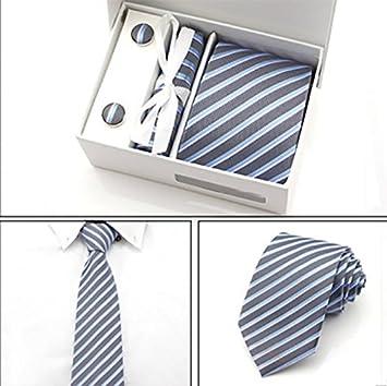 LINGDAI Hombres Vestido Formal Negocios Tie Carrera Estudiante Tie ...