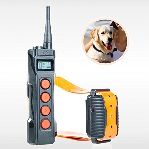 AETERTEK® Top 919C-1 Remote Dog Training Collar Pet Shock Control for Stubborn or Serious Dogs Beep/Vibration/Shock E-Collar Designed for professional Hunter ,Dog Trainer 1000M Range