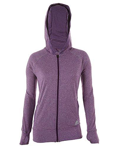 Adidas Bf Fz Hood Womens Style: F85843-Purple Size: L ()