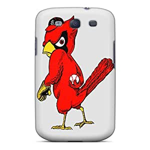 Great Cell-phone Hard Cover For Galaxy S3 With Provide Private Custom Realistic St. Louis Cardinals Pictures No1cases