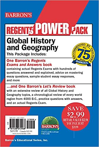 Amazon com: Global History and Geography Power Pack (Regents Power