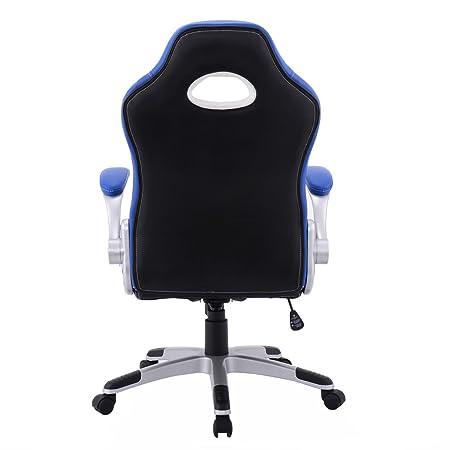 Amazon.com : PU Leather Executive Racing Style Bucket Seat ...