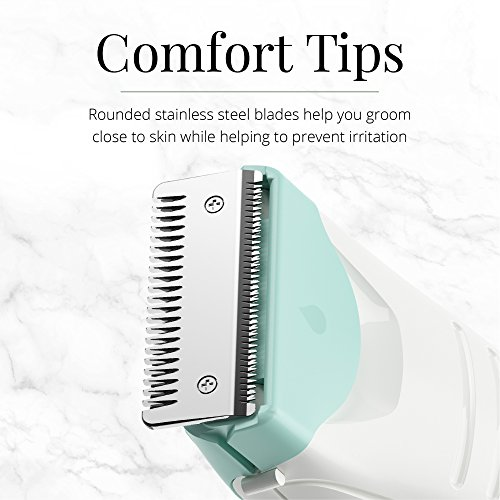 Remington Smooth & Silky Precision Groomer & Shaver, White, BKT4000 by Remington (Image #1)