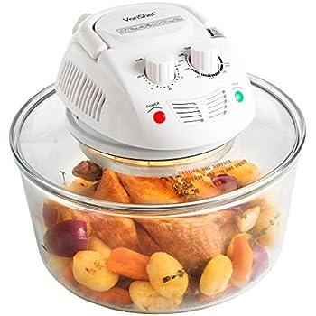 VonShef 12.5 Quart Premium Halogen Convection Countertop Oven Cooker with Accessories
