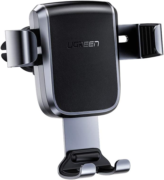 UGREEN Car Phone Mount Gravity Car Air Vent Phone Holder Stable Auto Clamp Car Cradle for New iPhone 11/11 Pro/11 Pro Max, Xs Max XR X, Samsung Galaxy S10 S9 S8, Huawei P30 Pro P20 Mate 20, Xiaomi