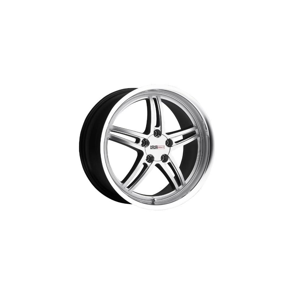 18x9 Cray Scorpion (Hyper Silver) Wheels/Rims 5x120.7 (1890CRS505121S70)