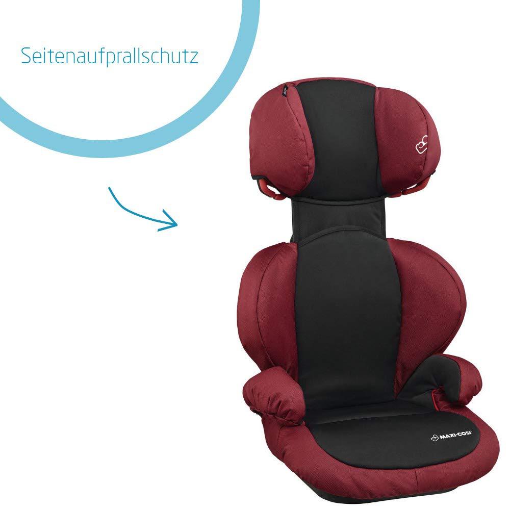 15-36 kg carbon black Maxi-Cosi Rodi SPS Kindersitz mitwachsender Gruppe 2//3 Autositz nutzbar ab 3,5 bis 12 Jahre