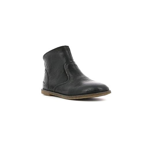af60ad477d3 KICKERS Roxanna Botas Chicas Negro - 34 - Botas urbanas  Amazon.es  Zapatos  y complementos