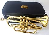 Chopra Cornet Lacquered 3 Valves Bb with Box n Mouth Piece