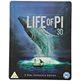 Life of Pi 3D (Includes 2D Version) - Zavvi Exclusive Limited Edition Steelbook