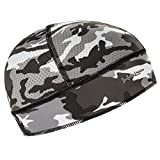 Halo Headbands Skull Cap Camo Grey