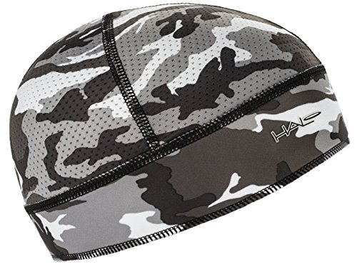 (Halo Headband Skull Cap - The Ultimate High Performance Skull Cap, Camo Grey)