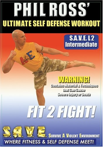 DVD : Ultimate Self Defense Workout: Fit 2 Fight With (DVD)
