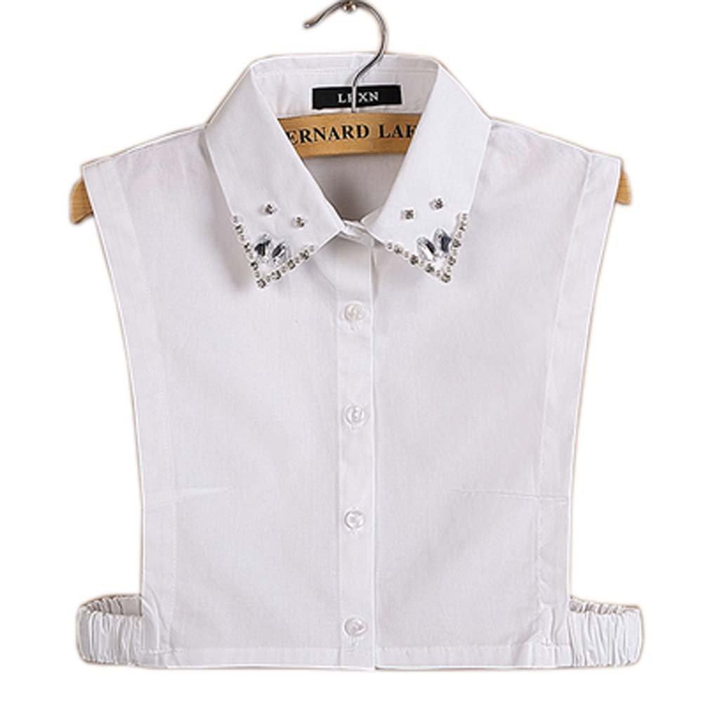 Simple Stylish Detachable Collar Fake Shirt Collar All Purpose