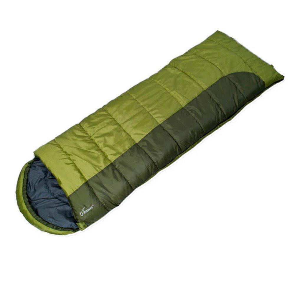 Im Freien Campingschlafsack/Baumwolle Schlafsack Mittagessen Erwachsene/Kann Doppelschlafsack gespleißt werden