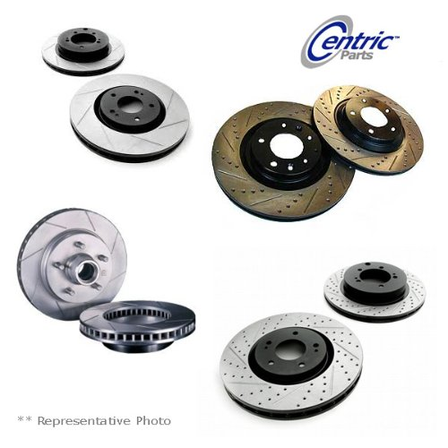 Stop Tech 127.33050L Sportstop Slotted and Drilled Brake Rotor