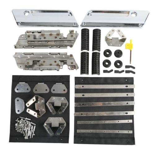 CQQS STORE - Locks & Latches - Saddlebag Hardware Latch Set for Harley Electra Street Glide Road 1994-2013 1 PCs