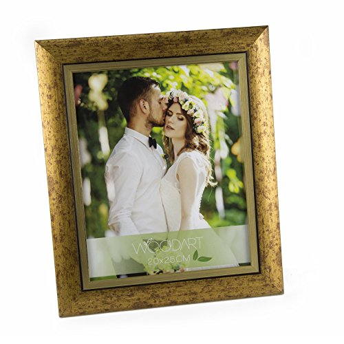 WoodArt Crafted Wooden Picture Frame (5x7