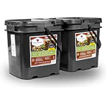 Wise Foods Survival Supplies Emergency Storage Travel Food Ration Pouch 120 Serving Protein All Meat Long Term Food Supply Bucket