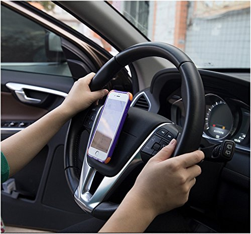 Car Dashboard or Other Surfaces Large x 2 2 Pack Tile Metal INOVA Fixate Sticky Gel Pads Kitchen Cabinet Reusable Stick to Glass Mirror