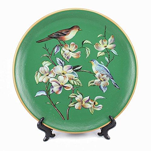 10'' Ceramic Decorative Plate, Art Decoration (I) by ZHAMS