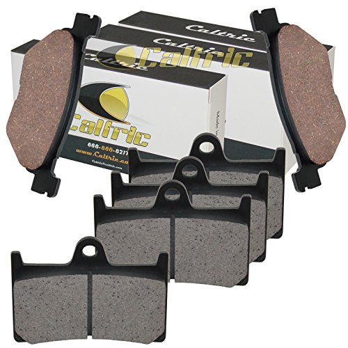 CALTRIC FRONT & REAR BRAKE PADS YAMAHA XV1900 STRATOLINER 1900 MIDNIGHT 2006 2007 2008 -  MP146+MP153+MP153/10