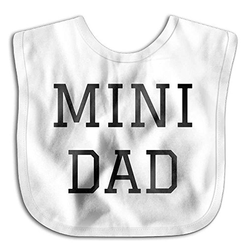 Price comparison product image Mini Dad Lovely Cotton Saliva Towel Infant Bibs Kids Girl Boy Baby Lunch Bib