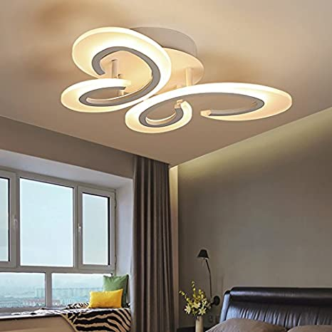 Renshengyizhan@ New Modern LED Ceiling Lights for Living ...