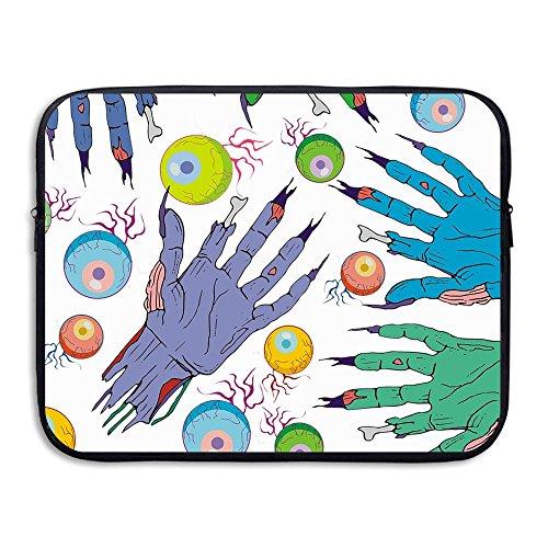 Fonsisi Laptop Storage Bag Eyeball Creative Portable Waterproof Laptop Case Briefcase Sleeve Bags Cover]()
