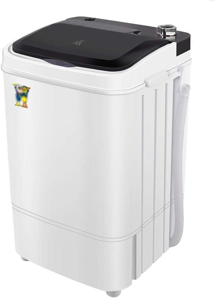 HIGHKAS Mini Lavadora Lavadora Barril Individual para niños , Mini Lavadora portátil Lavadora Ropa rotativa para el hogar Capacidad 4.5 Kg/9.9 Lbs Cesta Drenaje