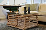 Cheap Maine Wooden Lobster Trap Coffee Table