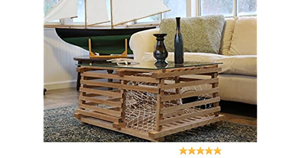 Surprising Maine Wooden Lobster Trap Coffee Table Andrewgaddart Wooden Chair Designs For Living Room Andrewgaddartcom