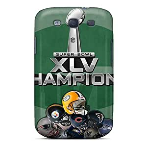 Fashionable USB3449SCiU Galaxy S3 Case Cover For Green Bay Packers Protective Case
