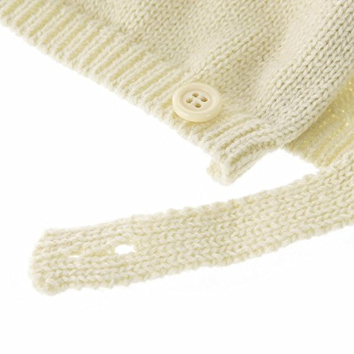 91e1a181a852 WITHMOONS Infant Baby Winter Earflap Cap Beanie Toddler Bear Hat CCJ869