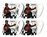 Best  - Mammy Jazz Band, Hand Painted Ceramic, 4 Piece Review