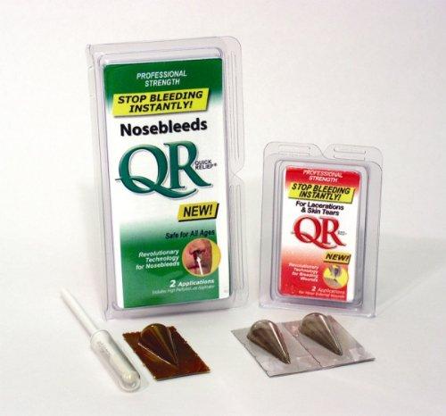 Pro QR Powder for anterior nosebleeds, includes applicator - 16 Treatments, 32 Applications