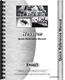 Hesston 466 Tractor Service Manual (Reference)