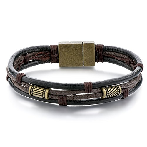 Choker Vintage Braided Leather Bracelets
