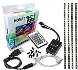 Bias Lighting for HDTV USB LED Strip Multi Color RGB LED Neon Accent