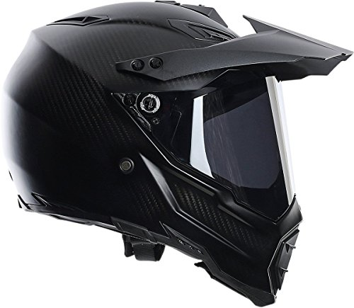 AGV AX-8 Dual Sport Evo Helmet (Matte Carbon, XXX-Large) by AGV (Image #2)