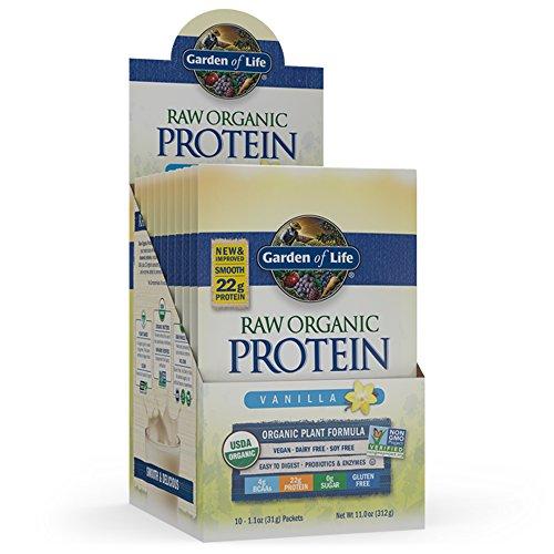 Garden Of Life Protein Powder Organic Raw Protein Shake With Vitamins And Probiotics Sugar Free