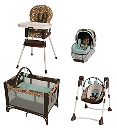 Incroyable Graco Little Hoot Collection  SnugRide Seat, Pack N Play, Highchair U0026 Baby  Swing