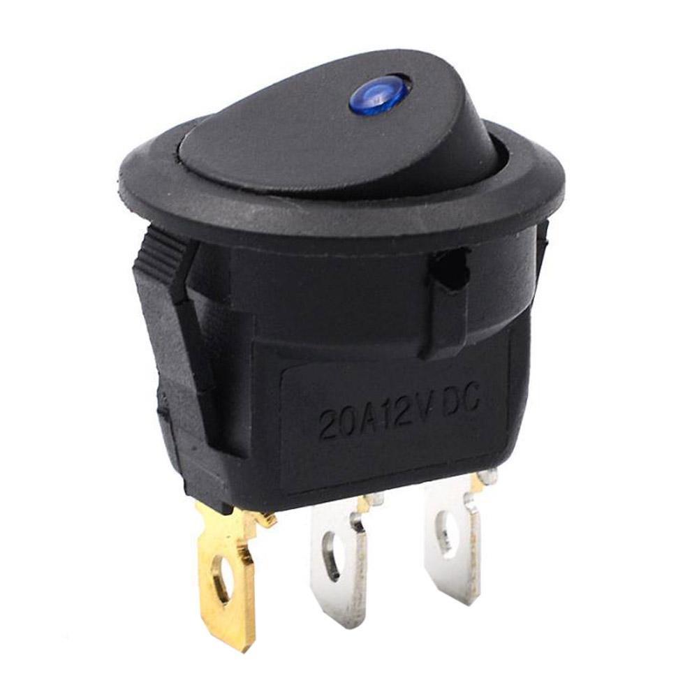 Interruptor basculante Starnearby Interruptor basculante LED Redondo Interruptor basculante Interruptor basculante Interruptor de Encendido//Apagado