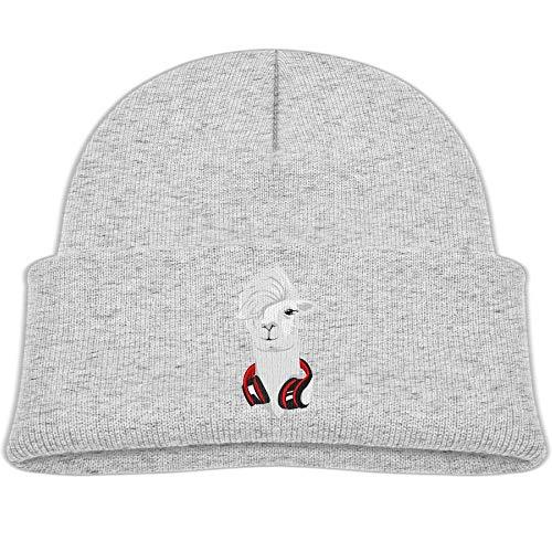 Qiop nee Beanie Hats Wool Knit Caps Headset Alpaca Boys Girl Baby Soft (Cap Warm Alpaca Wool)
