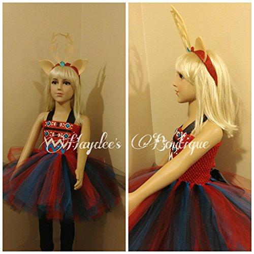 Spirit Dear Tutu Dress Set by Haydee's Boutique