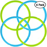 4 Pack Silicone Sealing Rings for Instant